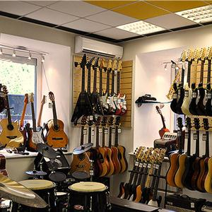 Музыкальные магазины Урус-Мартана